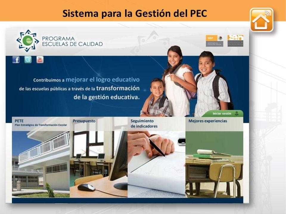 Sistema para la Gestión del PEC