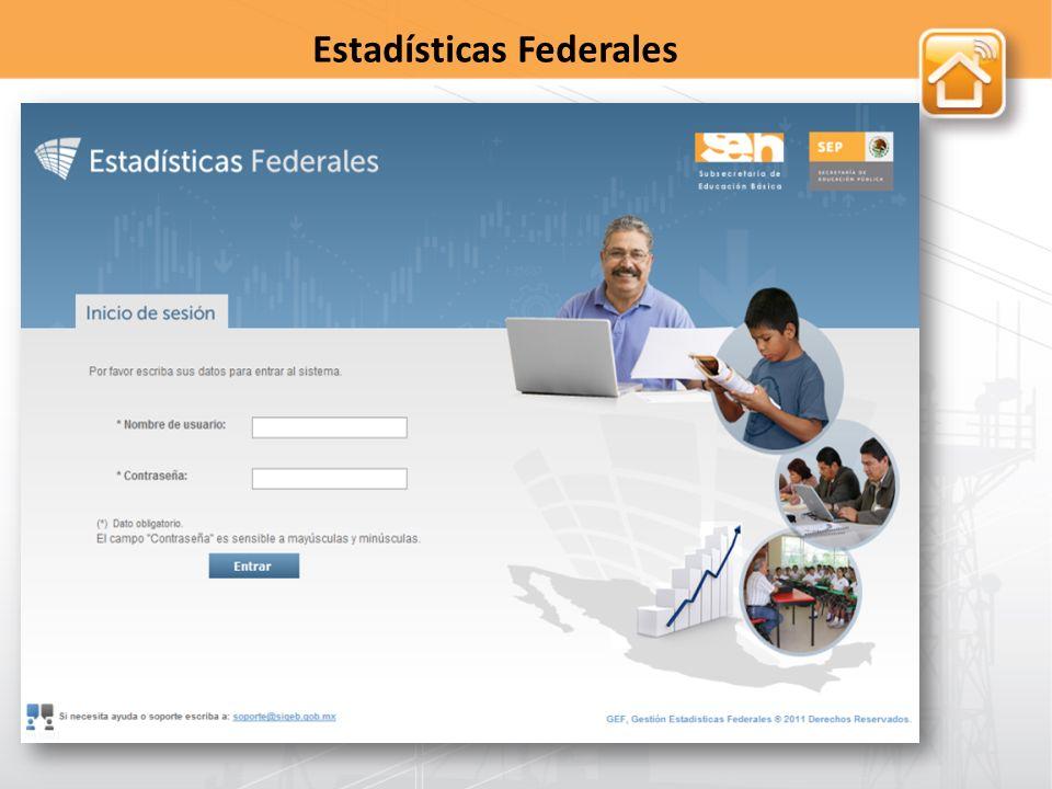 Estadísticas Federales