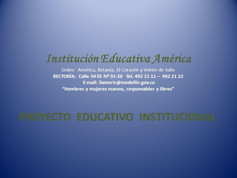 ¿CÓMO SE HA CONSTRUÍDO EL PROYECTO EDUCATIVO INSTIUCIONAL.
