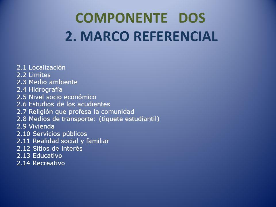 COMPONENTE TRES 3.