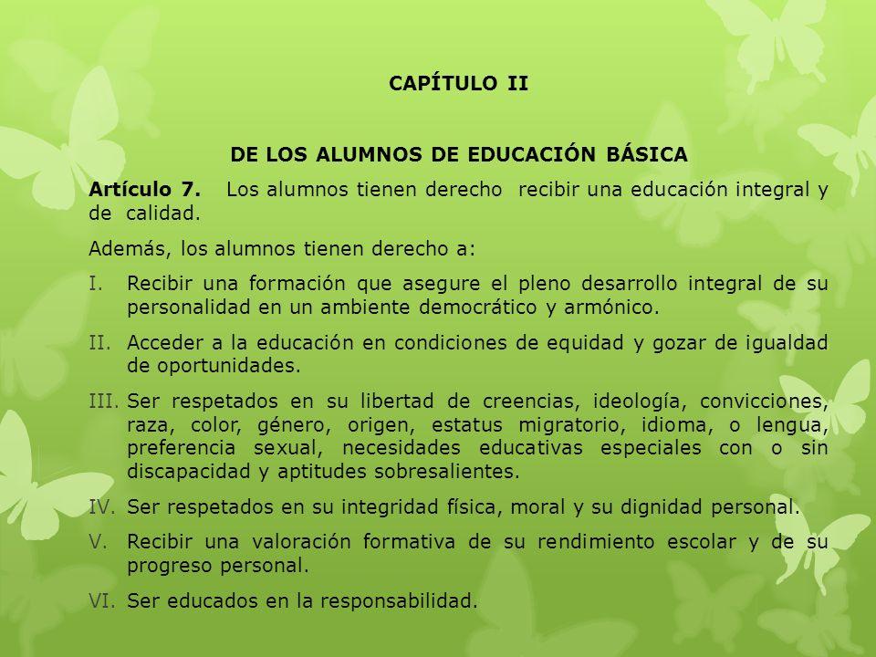 Artículo 4.- La finalidad del Reglamento es buscar interacción entre estudiantes, padres de familia, docentes, directivos y trabajadores de cada plantel se dé en un marco de certidumbre, donde todos conozcan sus derechos y deberes se comprometan a respetarlos, atiendan la diversidad orienten el proceso formativo de los alumnos y que los padres y tutores se involucren activamente en el proceso educativo.