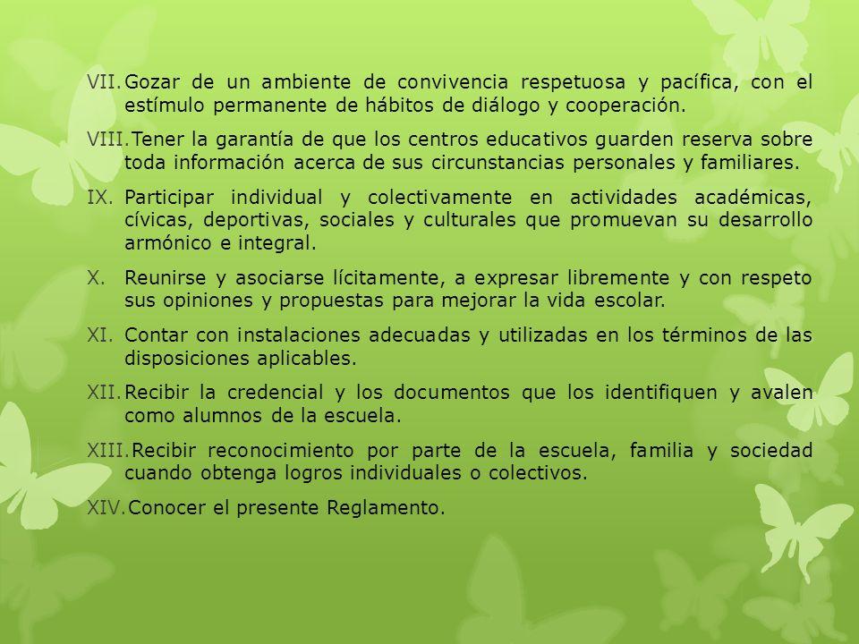 CAPÍTULO II DE LOS ALUMNOS DE EDUCACIÓN BÁSICA Artículo 7.
