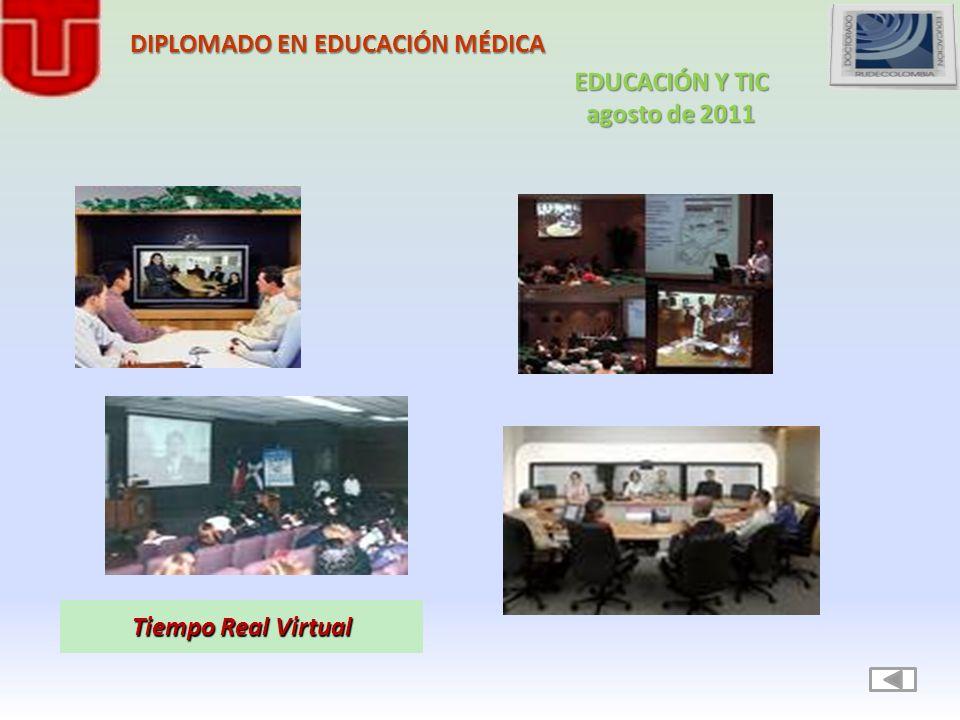 Tiempo Real Virtual DIPLOMADO EN EDUCACIÓN MÉDICA