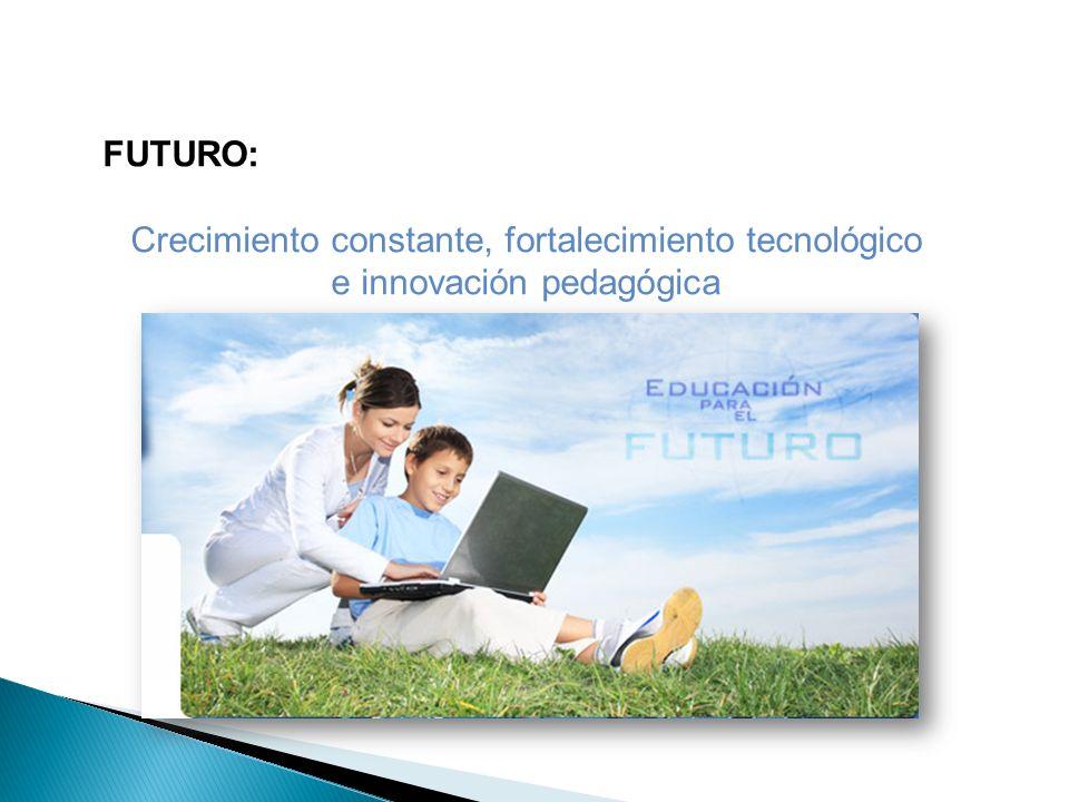 FUTURO: Crecimiento constante, fortalecimiento tecnológico e innovación pedagógica