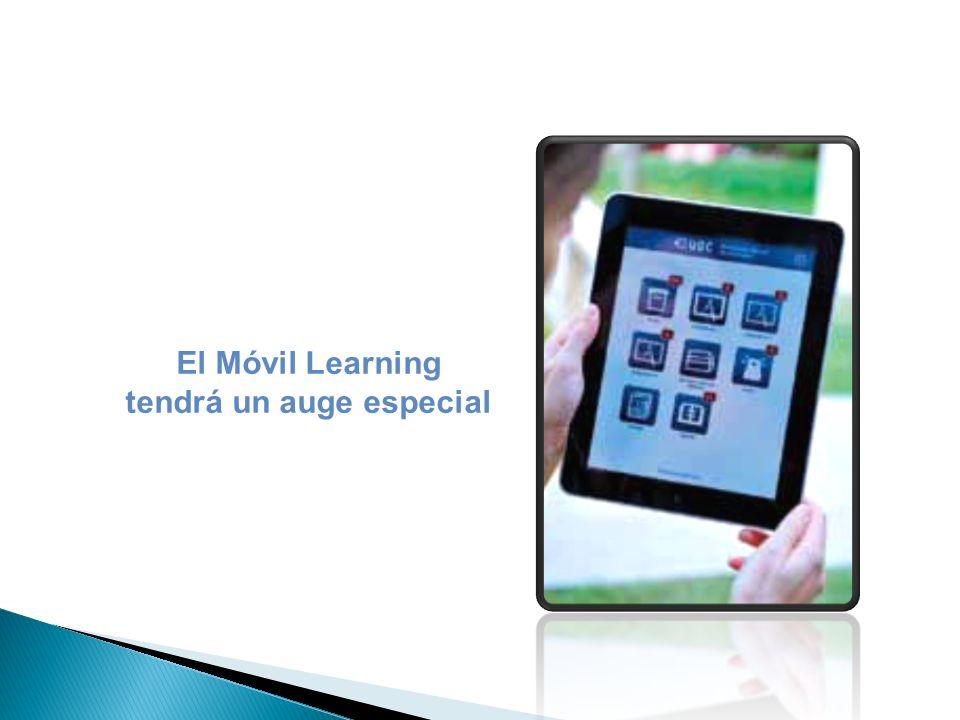 El Móvil Learning tendrá un auge especial
