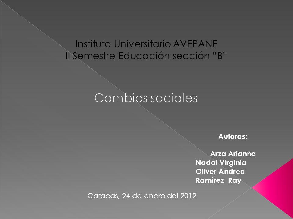 Autoras: Arza Arianna Nadal Virginia Oliver Andrea Ramírez Ray Caracas, 24 de enero del 2012
