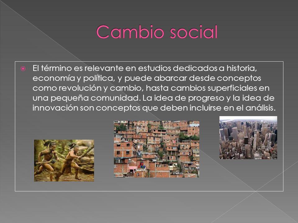 Cultura y Cambio Social son dos aspectos correlativos, la sociedad, en cada etapa de su desarrollo, es caracterizada por su cultura y ésta encuba los brotes de la nueva formación económico-social.
