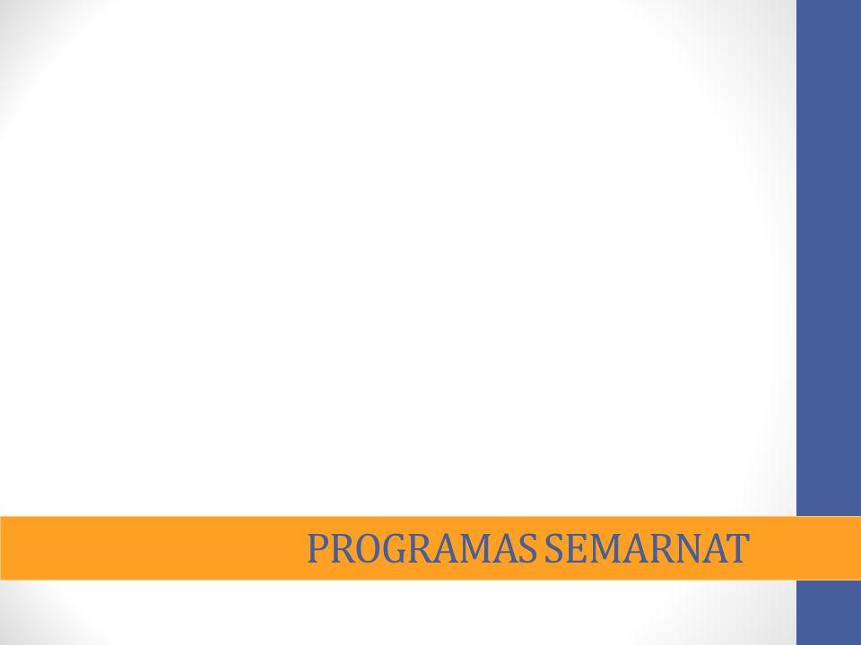 PROGRAMAS SEMARNAT
