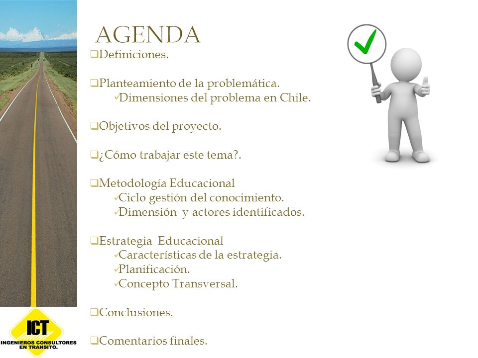 Definiciones. Planteamiento de la problemática. Dimensiones del problema en Chile. Objetivos del proyecto. ¿Cómo trabajar este tema?. Metodología Educ