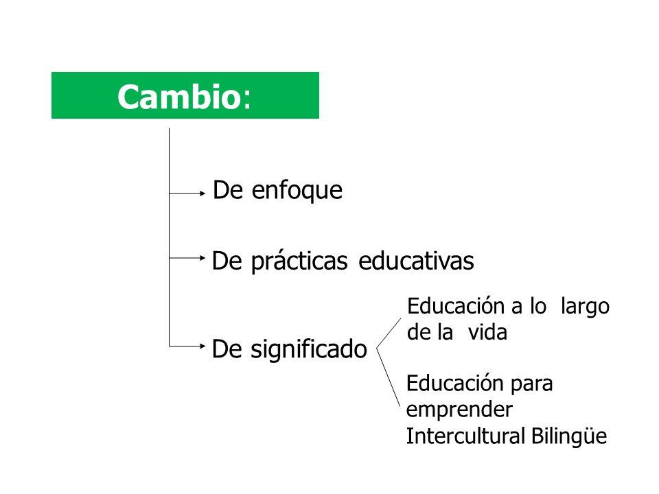 * Educación básica con espíritu emprendedor * Educación media superior.