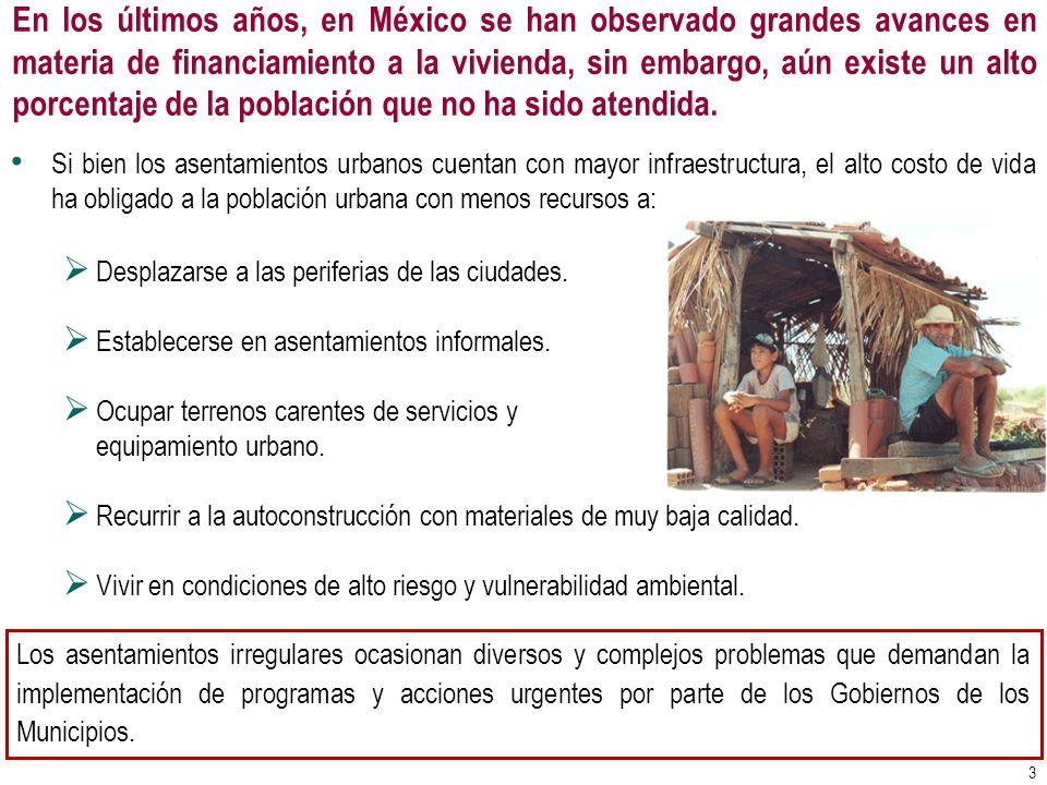 En los últimos años, en México se han observado grandes avances en materia de financiamiento a la vivienda, sin embargo, aún existe un alto porcentaje