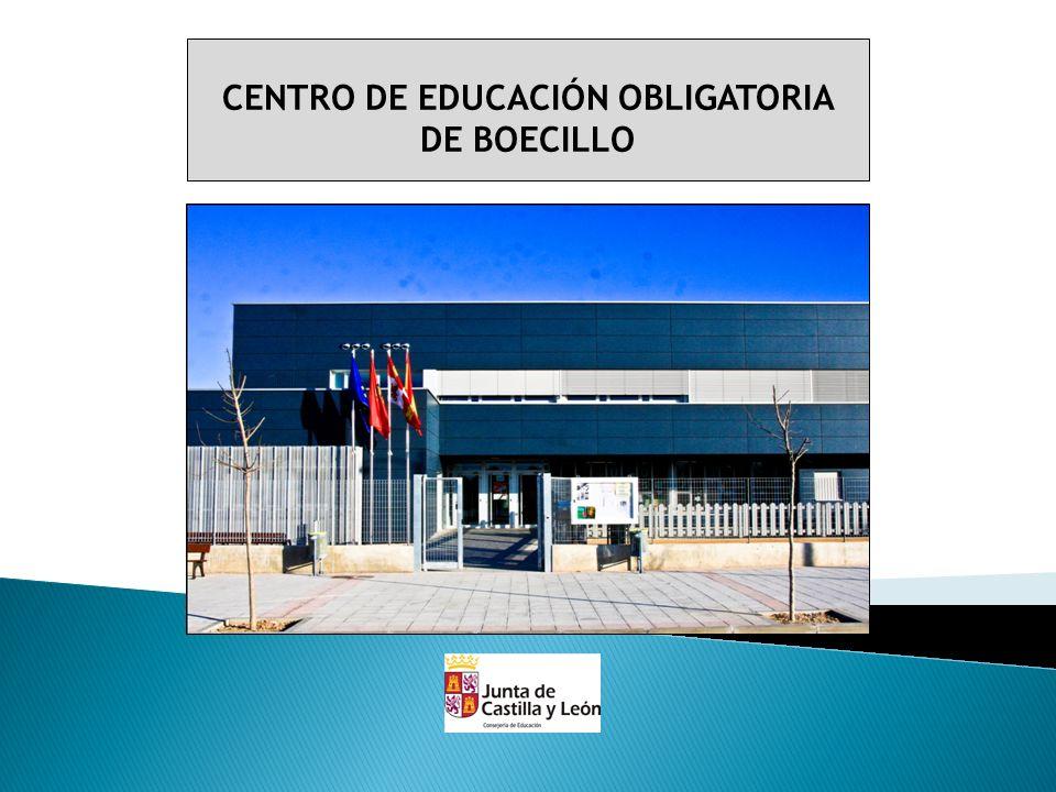 El Centro de Educación Obligatoria (CEO) de Boecillo abre sus puerta en el mes de Septiembre de 2011, por lo tanto, es un centro educativo joven, dinámico y activo.