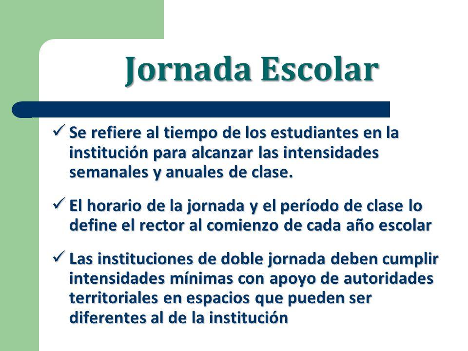 Cambios en Secundaria y Media Los estudiantes tienen más tiempo efectivo de clase, o sea 6 horas/día o 1.800 minutos / semana.