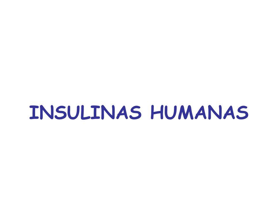INSULINAS HUMANAS