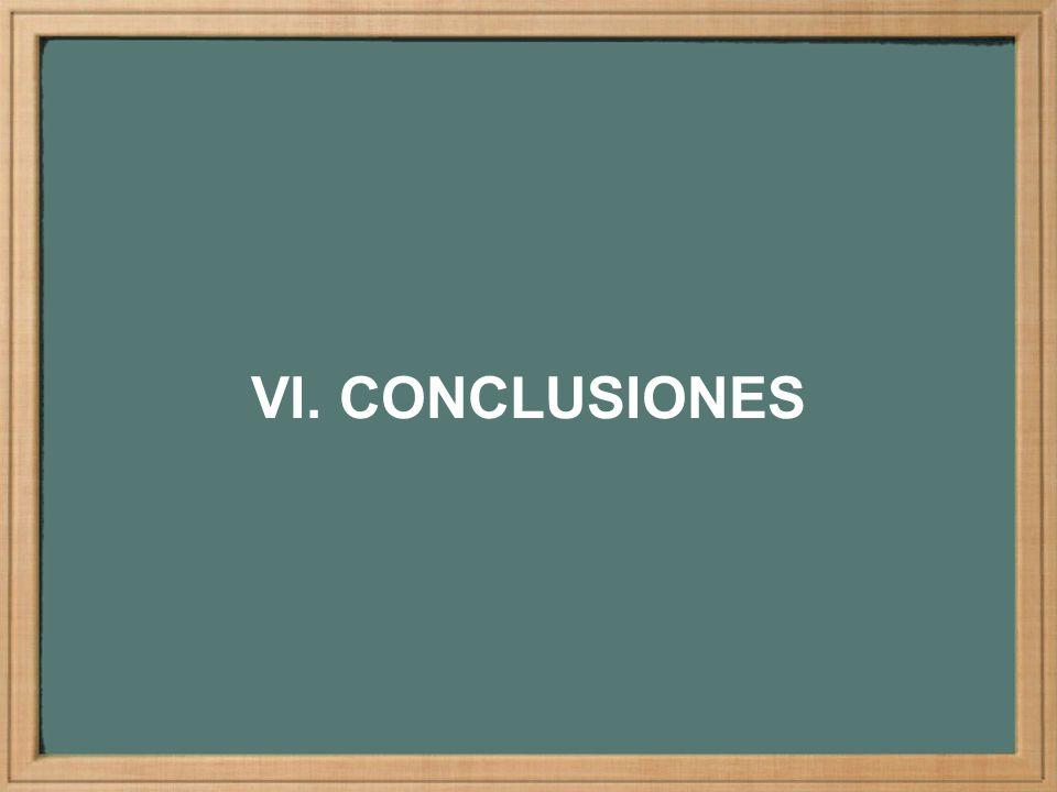 VI. CONCLUSIONES