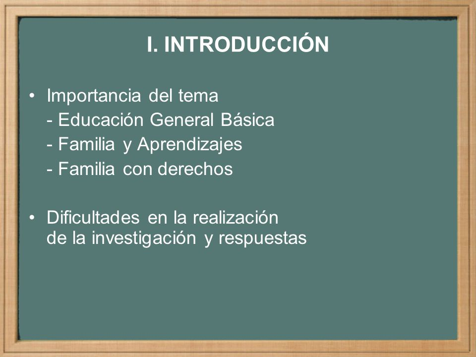 PROBLEMA Directrices para la participación de las familias en el desarrollo del centro educativo de educación primaria pública, CEPP y en los aprendizajes escolares, AE Comunicación entre directores, docentes y familias Protagonismo de las familias en actividades de aprendizajes escolares en los hogares