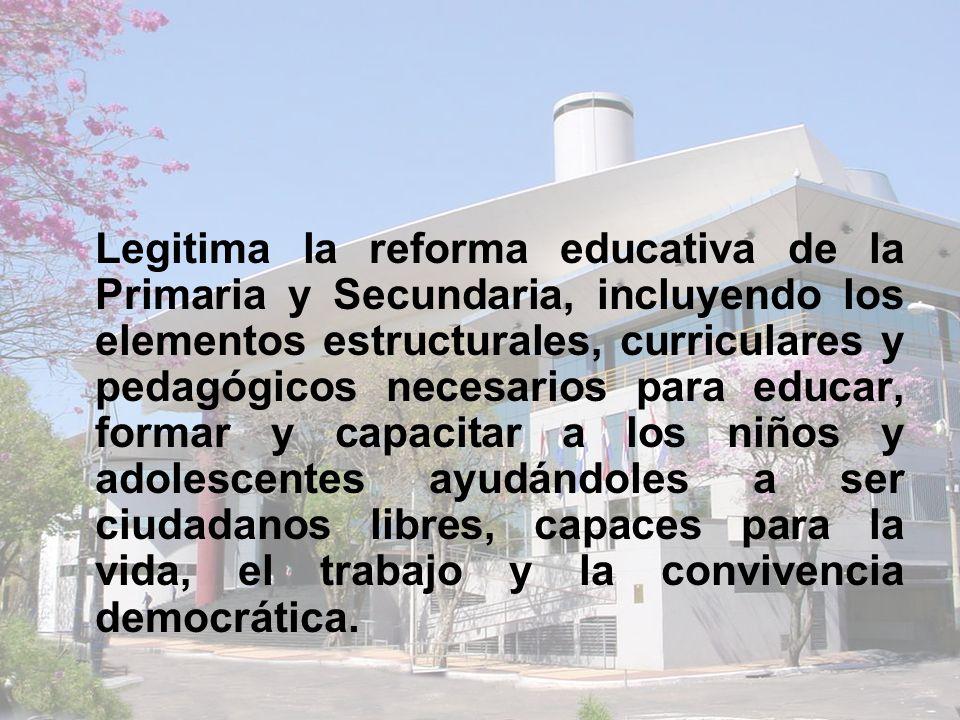 Crea el Consejo Nacional de Educación y Cultura para dar estabilidad y continuidad a los procesos educativos.