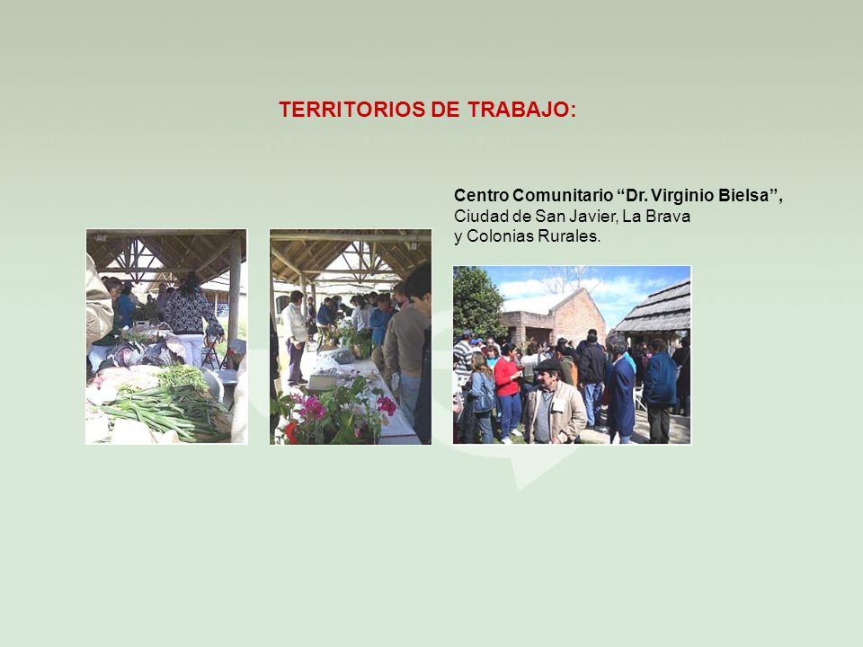 TERRITORIOS DE TRABAJO: Centro Comunitario Dr.