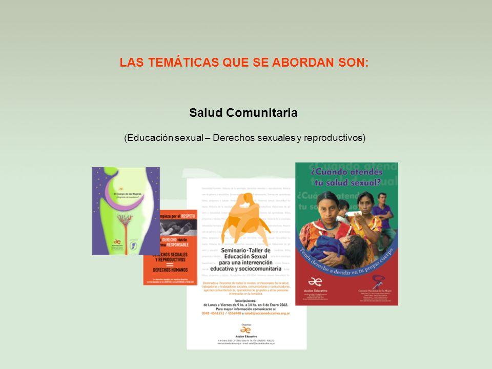 Desarrollo Local LAS TEMÁTICAS QUE SE ABORDAN SON: (Articulación – Territorio – Organización - Medio ambiente)
