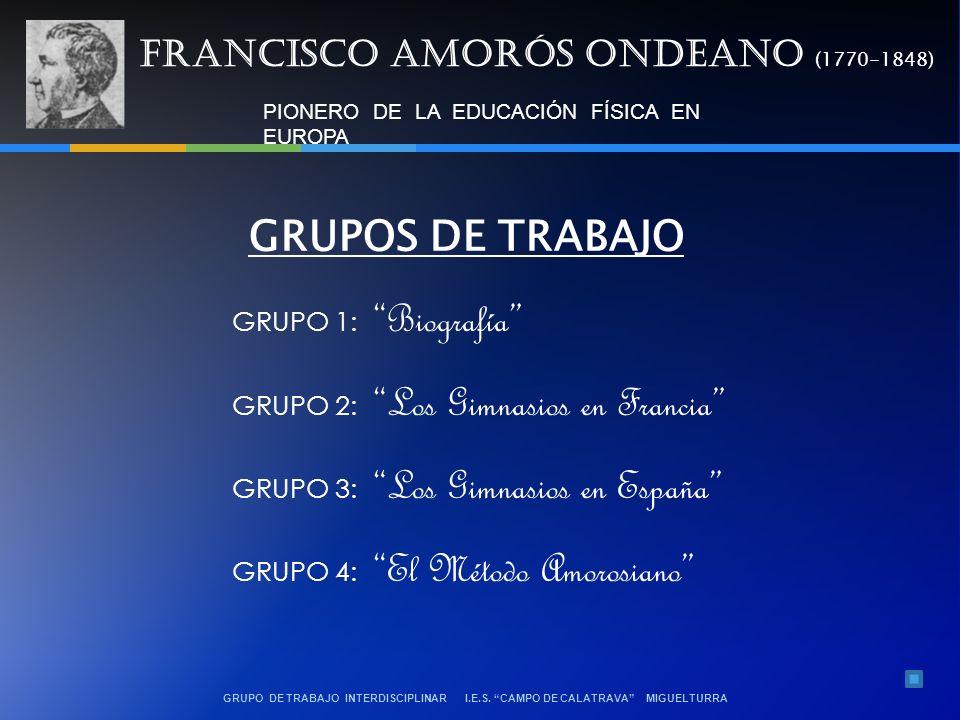 GRUPO DE TRABAJO INTERDISCIPLINAR I.E.S.