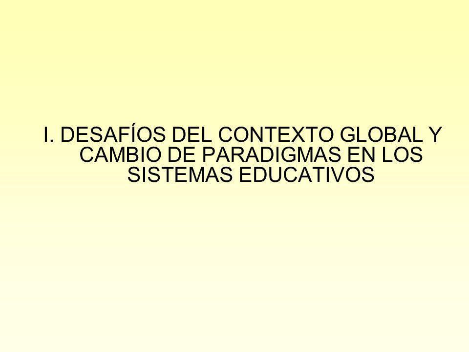 CAMBIO DE PARADIGMAS EN LA FORMACIÓN PROFESIONAL Revolución de la información y de las comunicaciones.