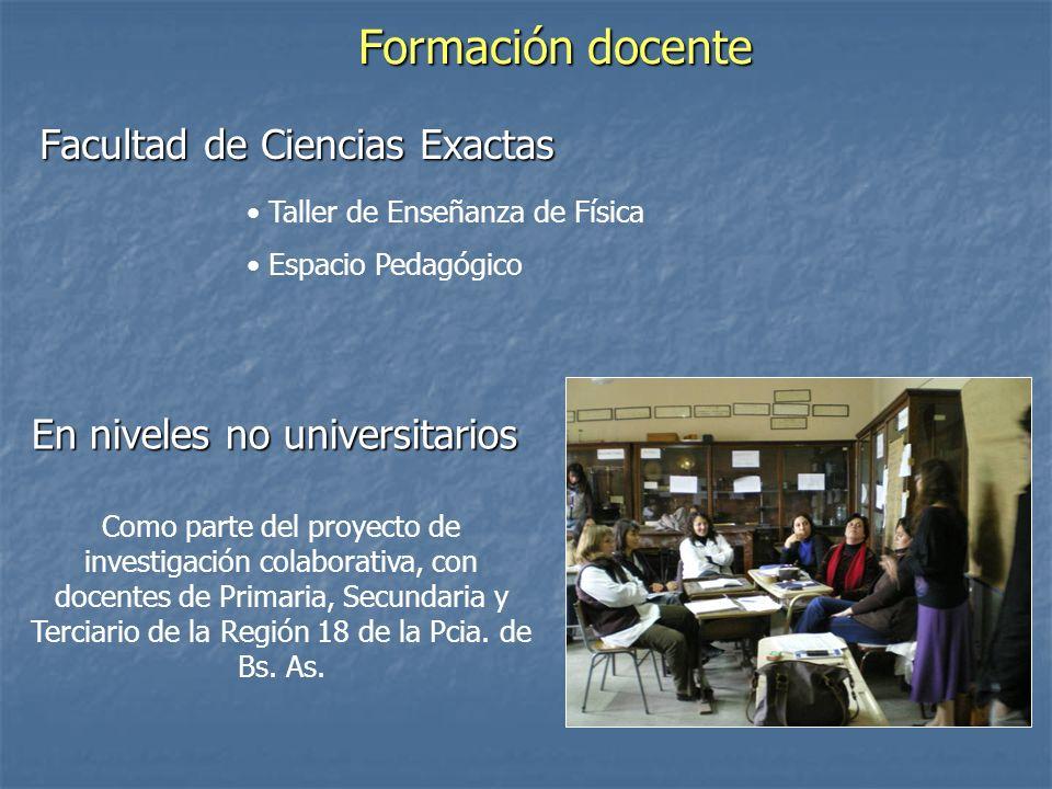 Formación de promotores de salud (en ámbitos rurales y urbanos) Participantes: Ana Dumrauf – Adriana Mengascini Silvina Cordero