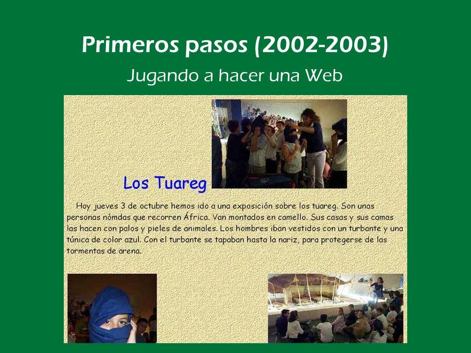 Primeros pasos (2002-2003) Aportaciones sorprendentes