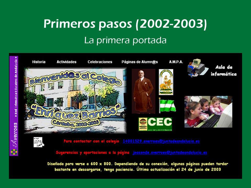 P.I.E. RED-EBARRIOS (2003-2005) Doce máquinas en red