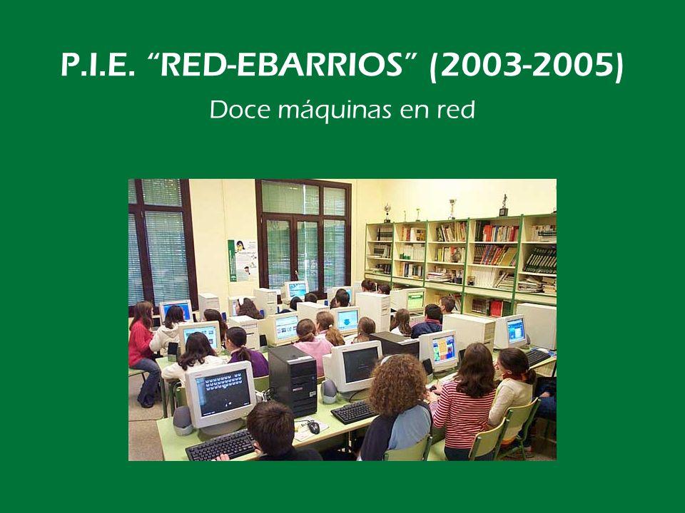 P.I.E. RED-EBARRIOS (2003-2005) …por fin tod@s en Internet