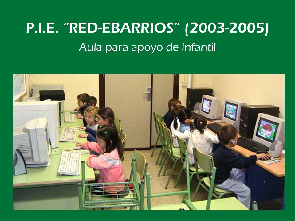 P.I.E. RED-EBARRIOS (2003-2005) Desde los tres años