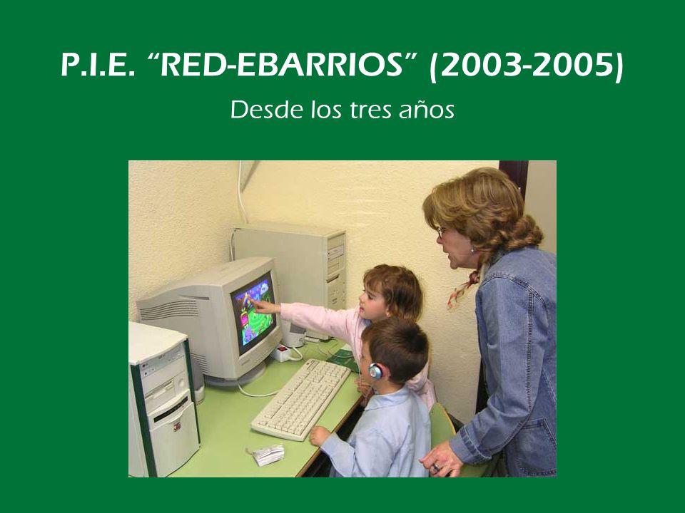 P.I.E. RED-EBARRIOS (2003-2005) También clases de cono en Internet