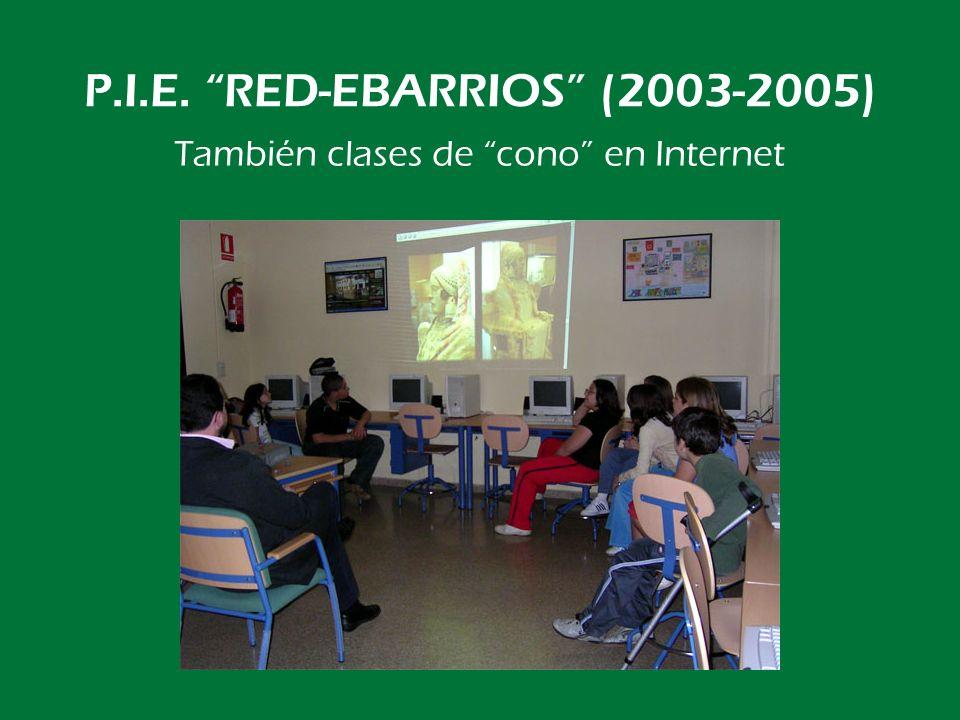 P.I.E. RED-EBARRIOS (2003-2005) Otro Grupo de Trabajo: INTRO-SÉNECA