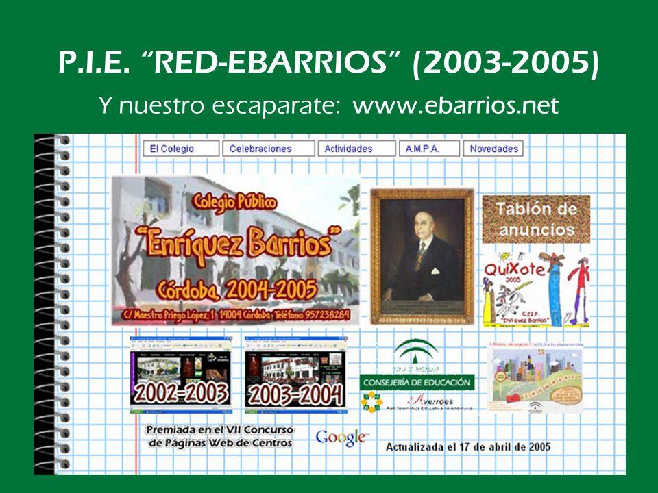 JUNTA DE ANDALUCÍA Consejería de Educación C.E.I.P.