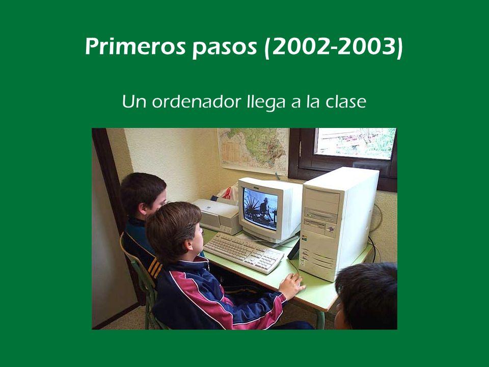 Primeros pasos (2002-2003) Servicio técnico propio