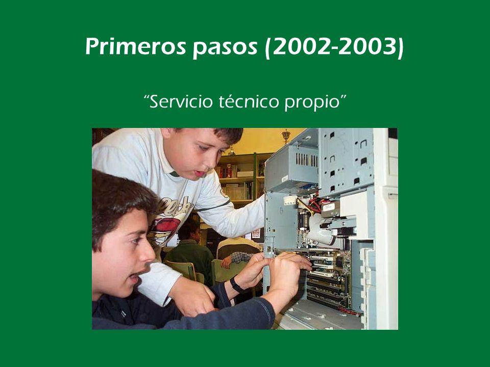 Primeros pasos (2002-2003) Ocupamos la Biblioteca