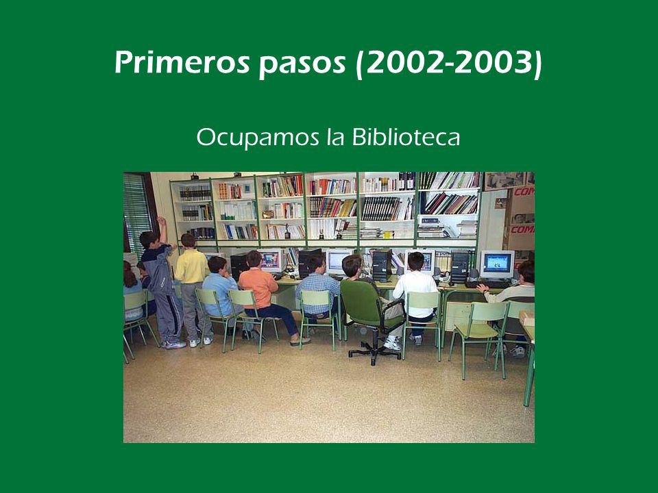Primeros pasos (2002-2003) …pero no llega para todos