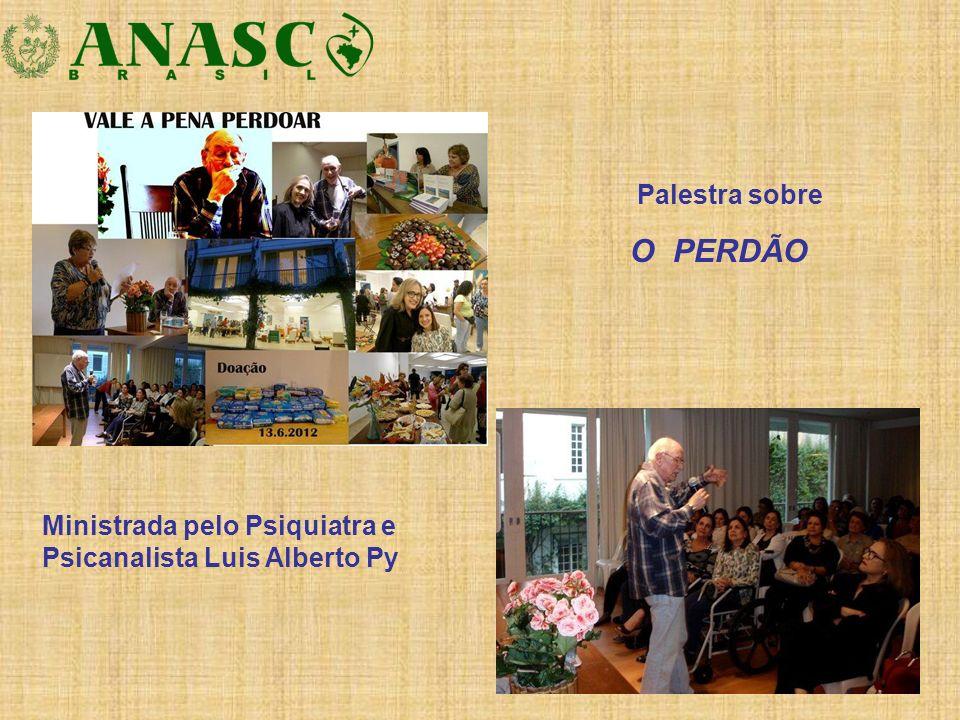 Ministrada pelo Psiquiatra e Psicanalista Luis Alberto Py Palestra sobre O PERDÃO