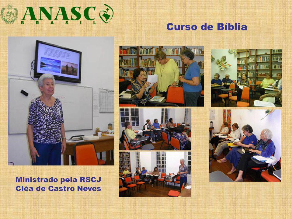Curso de Bíblia Ministrado pela RSCJ Cléa de Castro Neves