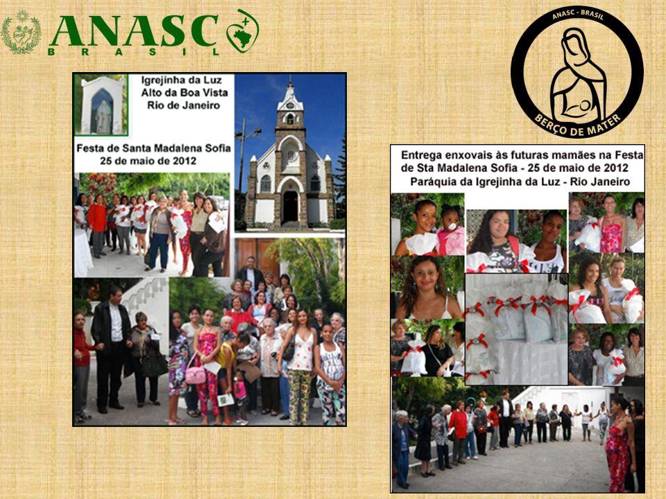 En Curitiba, Estado do Paraná, está la Pastoral da Criança (Pastoral de la Niñez) Con la participación activa de las exalumnas Rosana Pacheco Barbosa y Maria Eugenia de la Arena, rscj española.