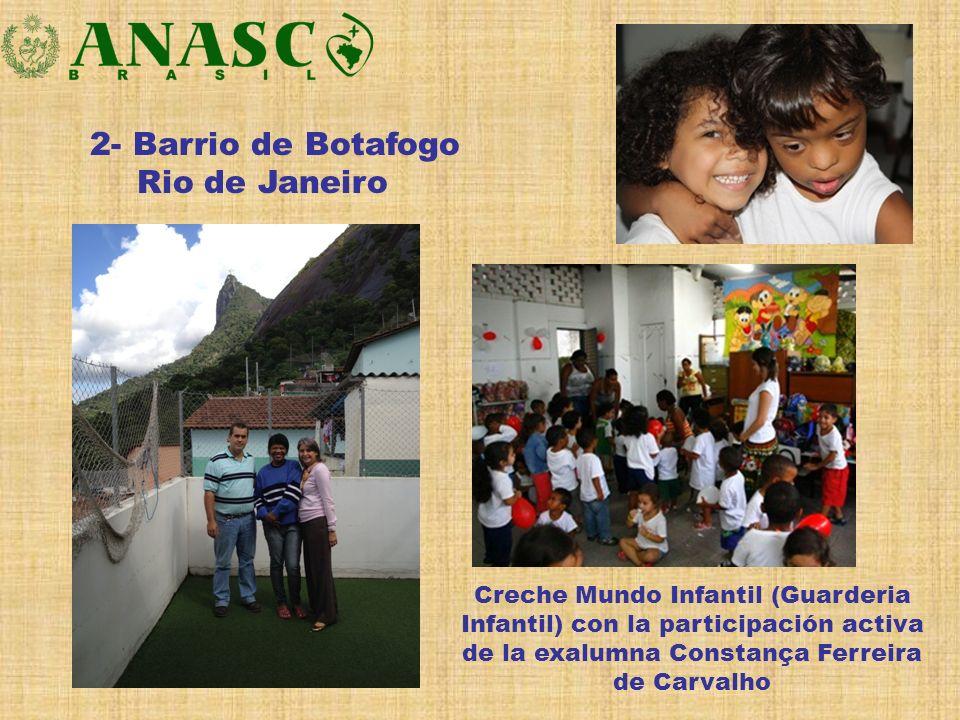 2- Barrio de Botafogo Rio de Janeiro Creche Mundo Infantil (Guarderia Infantil) con la participación activa de la exalumna Constança Ferreira de Carva