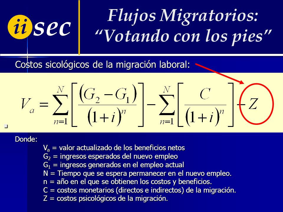 ii sec La migración a la que se hace referencia en el trabajo es la migración laboral. La migración a la que se hace referencia en el trabajo es la mi