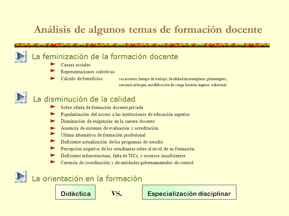 Otros datos útiles El costo de un titulado para ejercer como profesor en Ecuador oscila entre 7 y 20 mil $us El costo promedio anual de un estudiante