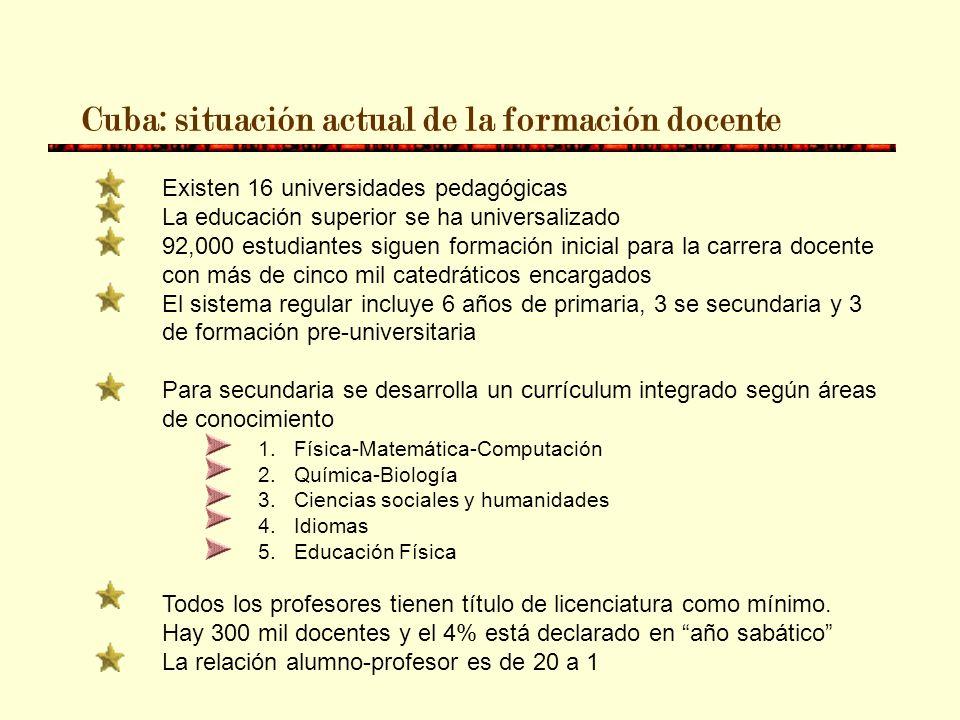 Honduras 1895 Fundación de la primera Escuela Normal 1956 Fundación de la Universidad Pedagógica Nacional Francisco Morazán 1974 Hay 45 Escuelas Norma