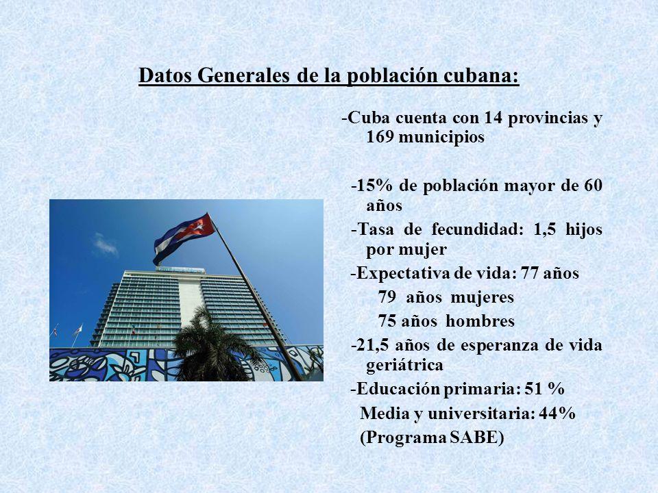 Principales impactos del Programa de Educación para Mayores en Cuba 1.