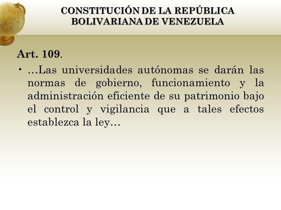 Art. 109.