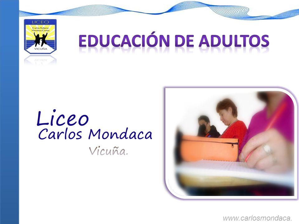 Criterios Considerados en la Definición de la Estructura Curricular de la Educación de Adultos.