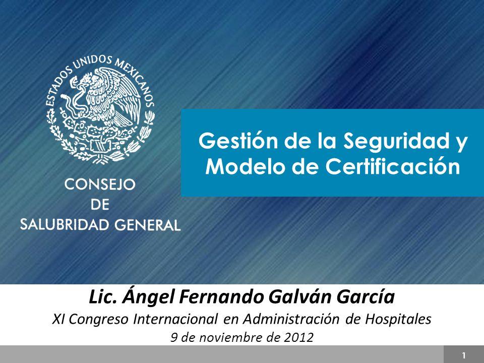 Sistema Nacional de Certificación de Establecimientos de Atención Médica 12 LEY GENERAL DE SALUD Artículo 6o.- El sistema nacional de salud tiene los siguientes objetivos: I.