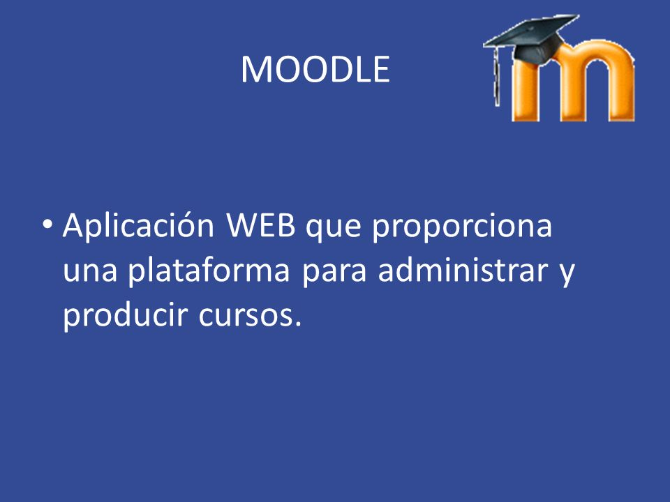M modular O object O oriented D dynamic L learning E environment Entorno de aprendizaje dinámico modular orientado a objetos