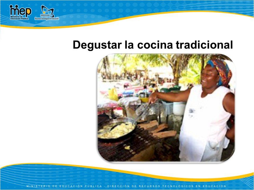 Degustar la cocina tradicional