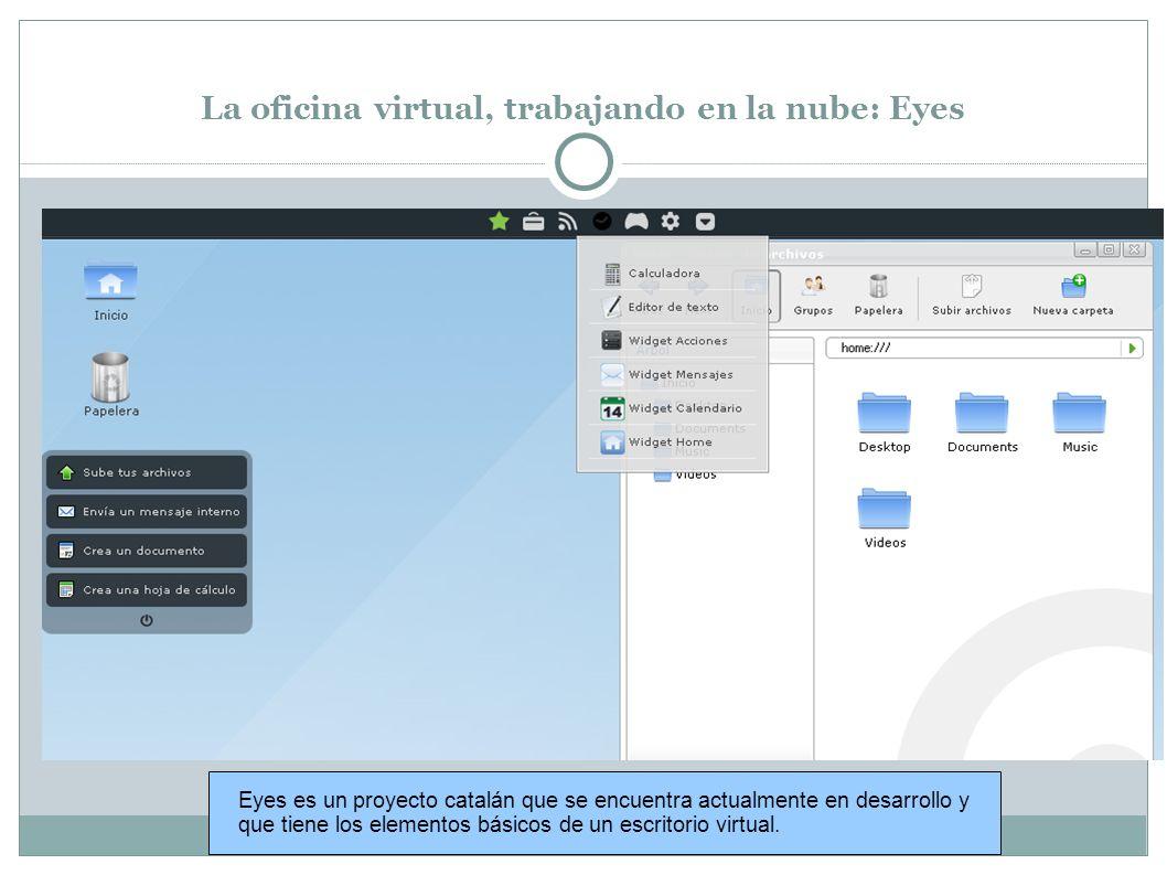 La oficina virtual, trabajando en la nube.